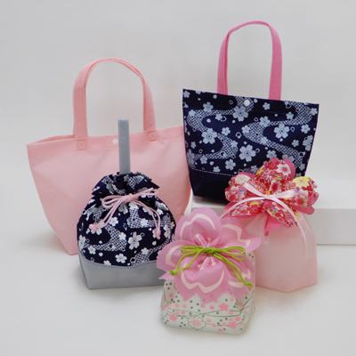 桜 さくら ラッピング ピンク 紺