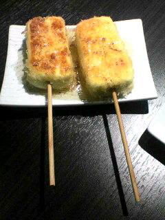 串鉄焼 「ハニーチーズのパン粉焼」