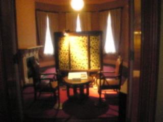 旧岩崎邸庭園「洋館室内2」