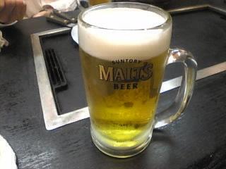 よい子「モルツ生ビール」