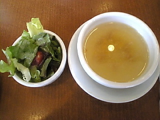 PUPPY`S_DINING「サラダ スープ」