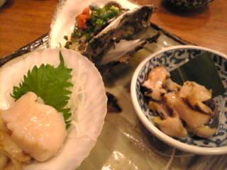 魚金本店「貝づくし」
