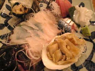 魚金本店「刺身盛り合わせ」