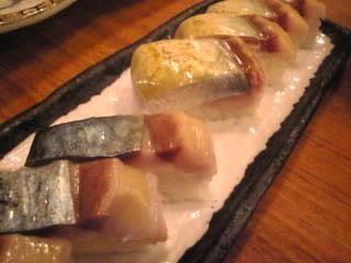 魚金本店「バッテラ」