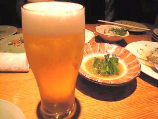 ごまや「モルツ生ビール」