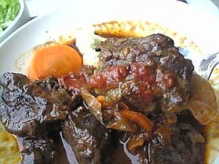 バルバッコア「ビーフシチューの肉」