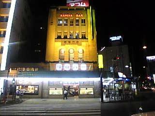 神谷バー_夜の外観