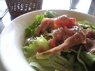 トラットリア マルーモ デックス東京ビーチ店 サラダ