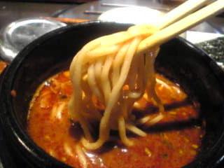 焼肉・韓国家庭料理 醍醐 お台場・デックス東京ビーチ[つけ麺 拡大]
