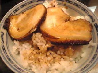 香港麺 新記「チャーシューご飯」