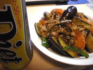 夏野菜のマーボー炒め&ダイエット生