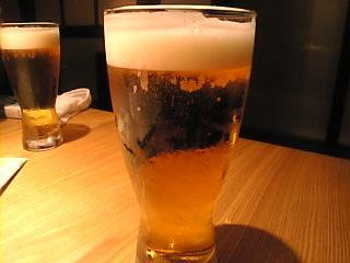 天地旬鮮 八吉 新橋店「モルツ生ビール」