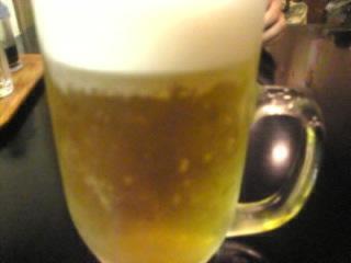 蒲焼_鳥かど家「生ビール」