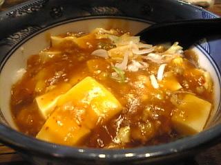 香港市場「麻婆丼」