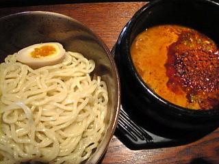 醍醐 台場店「辛つけ麺」