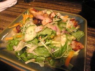 串焼き 備長亭「鶏サラダ」