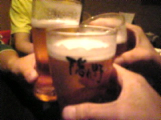 隠れ野 池袋西口店「モルツ生で乾杯!」