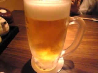 おだいどこ はなれ 新橋店「生ビール」