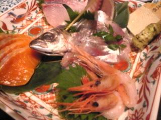 魚神「お刺身盛り合わせ」