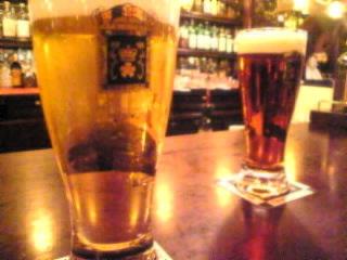 ROSE&CROWN「カールスバーグ&ローズビール」