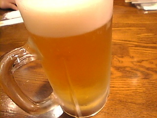 ふらんす亭_江古田店「生ビール」