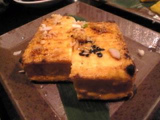 魚神_新橋店「厚揚げ焼き」