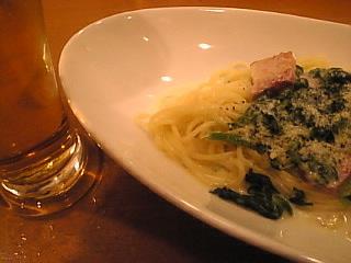スパゲッティ食堂 ドナ「生ビール&パスタ」
