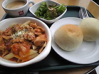 CAFE GRANO「チキンとトマトのランチ」