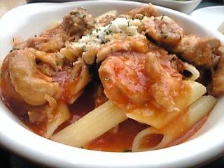 CAFE GRANO「チキンとトマトのパスタ」