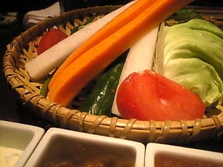 鳥どり 新宿東口店「野菜スティック」