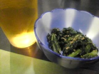 寿司 一品料理 花ちゃん「ビール&お通し」