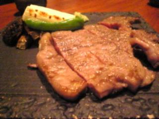 赤坂_日本料理_川の音「サーロインのあぶり焼き」