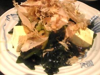 魚魚丸「ゴーヤと豆腐サラダ」