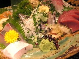 魚魚丸「刺身5点盛り合わせ」