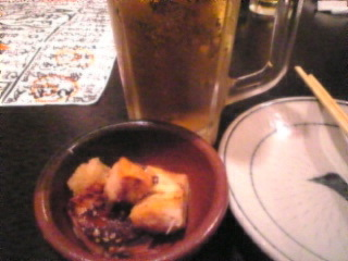 池袋 居酒屋 蔵之助「生ビール」