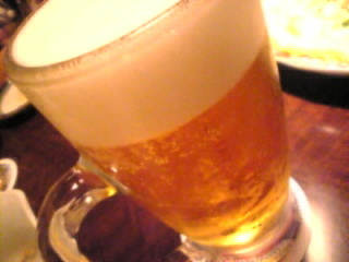 庄や_本蓮沼店「プレミアムモルツ生ビール」