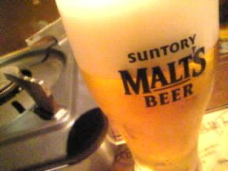 なまはげ 銀座「モルツ生ビール」