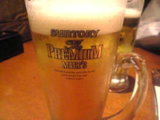 さしみや_良蔵 神田「生ビール」