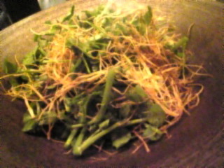焼匠 karaku(からく) 新橋店「クレソンのサラダ」