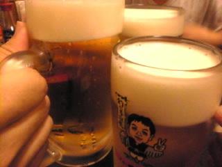 世界の山ちゃん 新宿靖国通り店「生ビール」