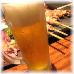 鳥屋 心人「生ビール」.jpg