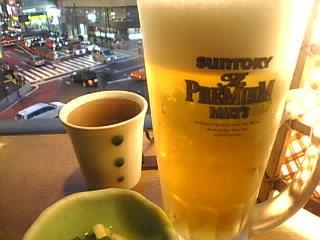 鳥どり 新宿三丁目店「生ビール」.jpg