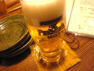 新橋_山猿「生ビール」