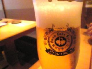 新宿 居酒屋 ぼんや「新潟地ビール」