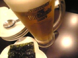 ソウルボッサム「生ビール」