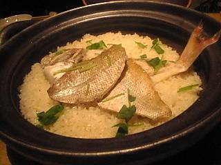 88屋「しまなみ鯛飯、土鍋炊き」
