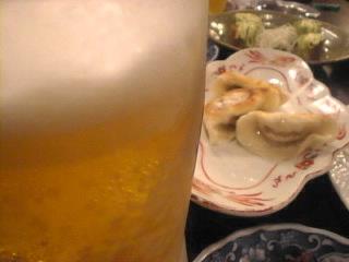 満月盧_新宿「生ビール」