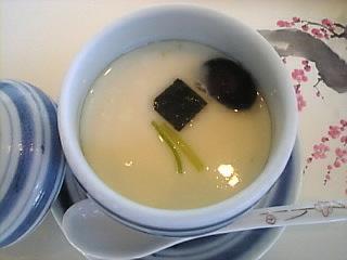 梅の花_晴海「茶碗蒸し」
