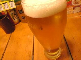 揚州商人_池袋西口店「生ビール」