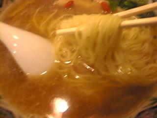 揚州商人_池袋西口店「揚州商人ラーメン 細麺」